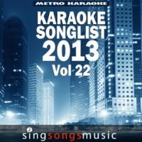 Metro Karaoke Girlfriend (In the Style of Icona Pop) [Karaoke Version]