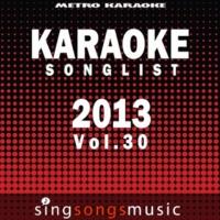 Metro Karaoke Stone (In the Style of Alice in Chains) [Karaoke Version]