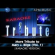 Karaoke Tribute More Tribute to Mary J. Blige (Vol. 1) [Karaoke Version]