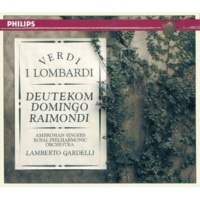 """Cristina Deutekom/Plácido Domingo/Ruggero Raimondi/The Ambrosian Singers/Royal Philharmonic Orchestra/Lamberto Gardelli Verdi: I Lombardi / Act 3 - Scena: """"Qui posa il fianco"""""""