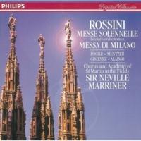 Nuccia Focile/アカデミー・オブ・セント・マーティン・イン・ザ・フィールズ/サー・ネヴィル・マリナー Rossini: Petite Messe solennelle - Credo - Crucifixus