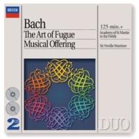 ウィリアム・ベネット/アイオナ・ブラウン/ニコラス・クレーマー/デニス・ヴィゲイ J.S. Bach: Musical Offering, BWV 1079 - Ed. Marriner - Sonata for Flute, Violin and Continuo: Allegro