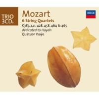 """イザイ弦楽四重奏団 Mozart: String Quartet No.17 in B flat, K.458 -""""The Hunt"""" - 3. Adagio"""