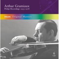 """アルテュール・グリュミオー/ポール・クロスリー Schubert: Sonata for Violin and Piano in A, D.574 """"Duo"""" - 3. Andantino"""