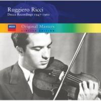 ルッジェーロ・リッチ Ruggiero Ricci: Decca Recordings 1950-1960