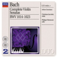 Arthur Grumiaux/Christiane Jaccottet J.S. Bach: Sonata for Violin and Harpsichord No.1 in B minor, BWV 1014 - 4. Allegro