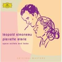 レオポルド・シモノー/ピエレット・アラリー Opera recitals and lieder