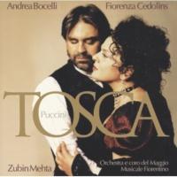 アンドレア・ボチェッリ/Fiorenza Cedolins/カルロ・グエルフィ/フィレンツェ五月音楽祭管弦楽団/ズービン・メータ Puccini: Tosca [2 CDs]