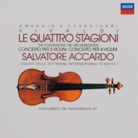 "Salvatore Accardo/Mariana Sirbu/Sylvie Gazeau/Victor Martin/I Solisti Di Napoli Vivaldi: 12 Concertos, Op.3 - ""L'estro Armonico"" / Concerto No.10 In B Minor For 4 Violins And Cello - Largo"
