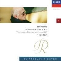 スヴャトスラフ・リヒテル Brahms: Piano Sonata No.2 in F sharp minor, Op.2 - 3. Scherzo. Allegro