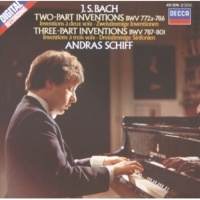 アンドラーシュ・シフ 3声のインヴェンション(シンフォニア): 第4番 ニ短調 BWV 790