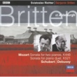 Sviatoslav Richter/Benjamin Britten Mozart: Sonata for Piano duet in C, K.521 - 3. Allegretto [Live In Aldeburgh / 1966]