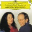 "Gidon Kremer/Martha Argerich Beethoven: Violin Sonatas Nos.9 Op.47 ""Kreutzer"" & 10 Op.96"
