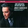 José Carreras/English Chamber Orchestra/Enrique García Asensio You Belong To My Heart