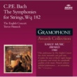 The English Concert/Trevor Pinnock Bach, C.P.E.: The Symphonies for Strings