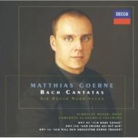 """Matthias Goerne Ich will den Kreuzstab gerne tragen  Cantata, BWV 56: J.S. Bach: 2. Recitativo: """"Mein Wandel auf der Welt"""" [Cantata """"Ich will den Kreuzstab gerne tragen"""","""
