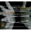 Ensemble Modern/Pierre Boulez/Martyn Brabbins/Pierre Andre Valade Birtwistle: Theseus Game; Earth Dances