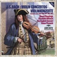 Simon Standage/The English Concert/Trevor Pinnock J.S. Bach: Violin Concerto No.1 In A Minor, BWV 1041 - 1. (Allegro moderato)