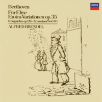 "Alfred Brendel Beethoven: 15 Piano Variations and Fugue in E flat, Op.35 -""Eroica Variations"" - Introduction col basso del Tema"