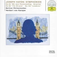 "Berliner Philharmoniker/Herbert von Karajan Haydn: Symphony No.104 In D Major, Hob.I:104 - ""London"" - 3. Menuet (Allegro)"