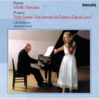 """Lola Bobesco/ジャック・ジャンティ Sonata for Violin and Piano """"à la memoire de Federico Garcia Lorca"""": ヴァイオリン・ソナタ《ガルシア・ロルカの思い出》 第2楽章: Intermezzo.Tre lent et calme"""