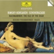 ロリン・マゼール/ベルリン・フィルハーモニー管弦楽団 リムスキー=コルサコフ:交響組曲《シェエラザード》/ラフマニノフ:交響詩《死の島》