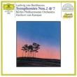 ベルリン・フィルハーモニー管弦楽団/ヘルベルト・フォン・カラヤン ベートーヴェン:交響曲第2番、第7番