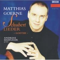 Matthias Goerne/Andreas Haefliger Schubert: Der Fischer, D. 225