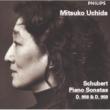内田光子 シューベルト:ピアノ・ソナタ第19番・20番