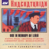 Armenian Philharmonic Orchestra Khachaturian: Ode In Memory Of Lenin; Festive Poem; Greeting Overture; Lermontov Suite; Russian Fantasy