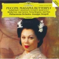 ホセ・カレーラス/フアン・ポンス/アンソニー・ラチューラ/フィルハーモニア管弦楽団/ジュゼッペ・シノーポリ Puccini: Madama Butterfly / Act 1 - Ed è bella la sposa? (Sharpless, Goro, Pinkerton)