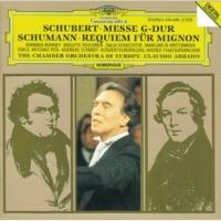 """Konzertvereinigung Wiener Staatsopernchor Schumann: Requiem fuer Mignon aus Goethes """"Wilhelm Meister"""",op.98b for soloists, chorus and orchestra - No. 5 """"Kinder! kehrtet ins Leben zurück!"""""""