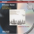 Quartetto Italiano Debussy: String Quartet in G minor / Ravel: String Quartet in F