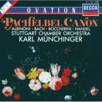 シュトゥットガルト室内管弦楽団,カール・ミュンヒンガー Suite No.3 in D, BWV 1068: エア(G線上のアリア)(管弦楽組曲  第3番 ニ長調 BWV.1068から)