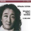 Mitsuko Uchida Schubert: Piano Sonatas Nos.15 & 18