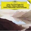 ベルリン・フィルハーモニー管弦楽団/ヘルベルト・フォン・カラヤン グリーグ:「ペール・ギュント」、他