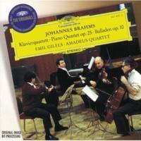 Emil Gilels/Members of the Amadeus Quartet Brahms: Piano Quartet No.1 In G Minor, Op. 25 - 2. Intermezzo (Allegro ma non troppo)