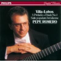 Pepe Romero Villa-Lobos: Suite populaire brésilienne, W020 - 3. Valsa-Chôrô