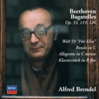 Alfred Brendel Beethoven: Allegretto in C Minor, WoO 53