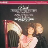 イレーナ・グラフェナウアー/マリア・グラーフ/ダヴィド・ゲリンガス Bach, J.S.: Sonatas & Partitas for flute & harp
