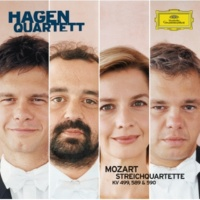 "ハーゲン弦楽四重奏団 Mozart: String Quartet No.23 in F, K.590  ""Prussian No.3"" - 1. Allegro moderato"