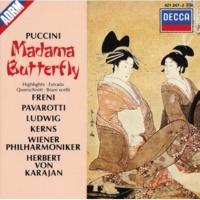 ミレッラ・フレーニ/クリスタ・ルートヴィヒ/ルチアーノ・パヴァロッティ/ウィーン・フィルハーモニー管弦楽団/ヘルベルト・フォン・カラヤン 歌劇《蝶々夫人》から〔ピンカートン〕: 夕やみが訪れて来た - かわいがって下さいね〔愛の二重唱〕(第1幕)