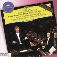 アルトゥーロ・ベネデッティ・ミケランジェリ/ウィーン交響楽団/カルロ・マリア・ジュリーニ ピアノ協奏曲 第1番 ハ長調 作品15: 第2楽章: Largo