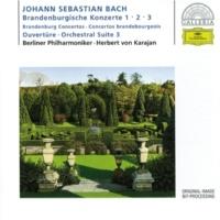 アドルフ・シェルバウム/カールハインツ・ツェラー/ローター・コッホ/ミシェル・シュヴァルベ/ベルリン・フィルハーモニー管弦楽団/ヘルベルト・フォン・カラヤン ブランデンブルク協奏曲 第2番 ヘ長調 BWV 1047: 第1楽章: (Allegro)