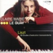 Claire-Marie Le Guay Liszt: 12 Etudes d'exécution transcendante