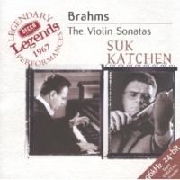 Josef Suk/Julius Katchen Brahms: Sonata for Violin and Piano No.2 in A, Op.100 - 3. Allegretto grazioso (Quasi andante)