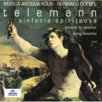 Reinhard Goebel/Stephan Schardt/Julia Huber-Warzecha/Mary Utiger Telemann: Concerto In D Major, TWV 40:202 For 4 Violins Without Basso Continuo - 3. Grave