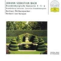 Berliner Philharmoniker/Herbert von Karajan J.S. Bach: Brandenburg Concerto No.6 in B flat, BWV 1051 - 2. Adagio ma non tanto