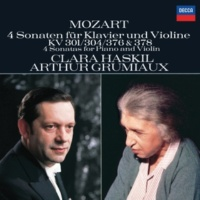 Clara Haskil/Arthur Grumiaux Mozart: Sonata for Piano and Violin in F, K.376 - 3. Rondo (Allegretto grazioso)