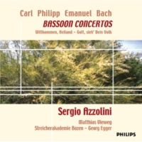 Sergio Azzolini C.P.E. Bach: Bassoon Concerto in B flat, Wq. 171 - 1. Allegretto